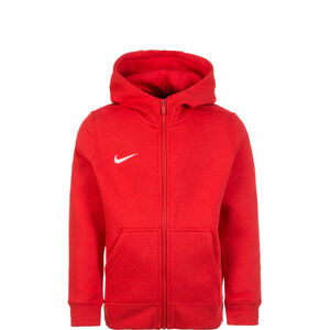 Full Zip FLC Club19 Kapuzensweatjacke Kinder, rot / weiß, zoom bei OUTFITTER Online