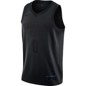 NBA MVP Swingman Russel Westbrook Basketballtrikot Herren, schwarz, zoom bei OUTFITTER Online