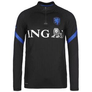 Niederlande VaporKnit Strike Drill Sweatshirt EM 2021 Herren, schwarz / blau, zoom bei OUTFITTER Online