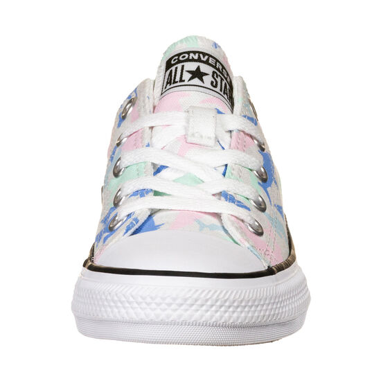 Chuck Taylor All Star Shark Bite OX Sneaker Kinder, weiß / mint, zoom bei OUTFITTER Online