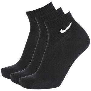 Everyday Lightweight Ankle Trainingssocken 3er Pack, schwarz / weiß, zoom bei OUTFITTER Online