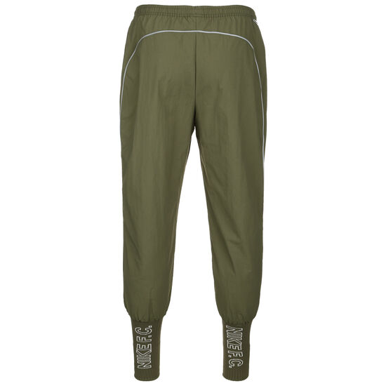 F.C. Woven Cuffed Trainingshose Herren, oliv / silber, zoom bei OUTFITTER Online
