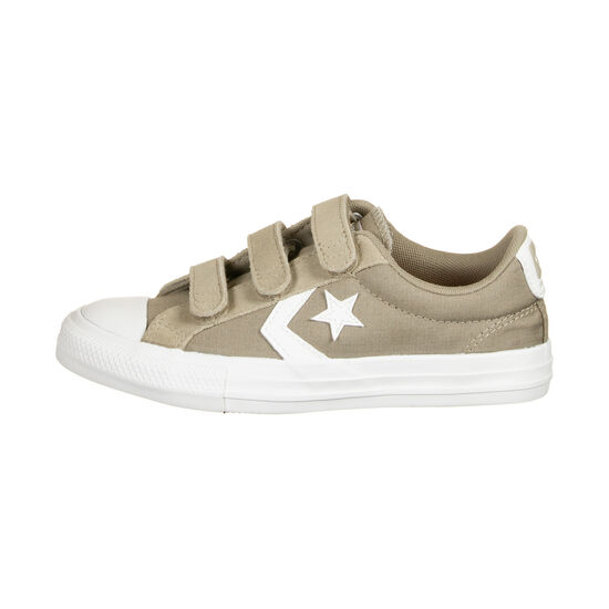Star Player 3V OX Sneaker Kinder, hellbraun / weiß, zoom bei OUTFITTER Online