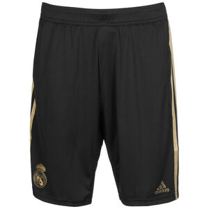 Real Madrid Trainingsshort Herren, schwarz / gold, zoom bei OUTFITTER Online