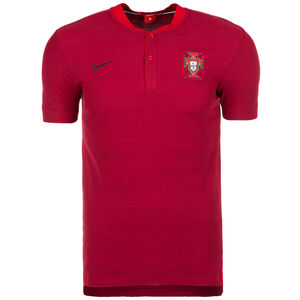 Portugal Authentic Poloshirt WM 2018 Herren, Rot, zoom bei OUTFITTER Online