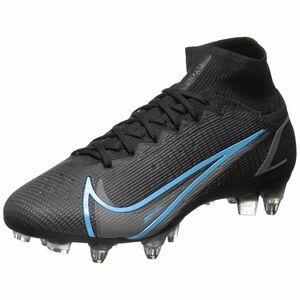 Mercurial Superfly 8 Elite DF SG-Pro AC Fußballschuh Herren, schwarz / blau, zoom bei OUTFITTER Online