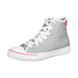 Chuck Taylor All Star High Sneaker Kinder, hellgrau / pink, zoom bei OUTFITTER Online