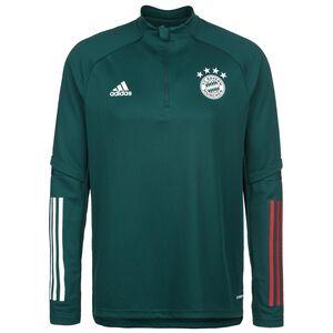 FC Bayern München Trainingssweat Herren, dunkelgrün / rot, zoom bei OUTFITTER Online