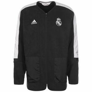 Real Madrid Travel Mid-Layer Jacke Herren, anthrazit / weiß, zoom bei OUTFITTER Online