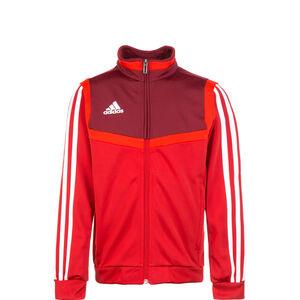 Tiro 19 Polyester Trainingsjacke Kinder, rot / dunkelrot, zoom bei OUTFITTER Online
