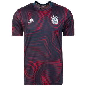 FC Bayern München Pre-Match T-Shirt Herren, dunkelblau / rot, zoom bei OUTFITTER Online