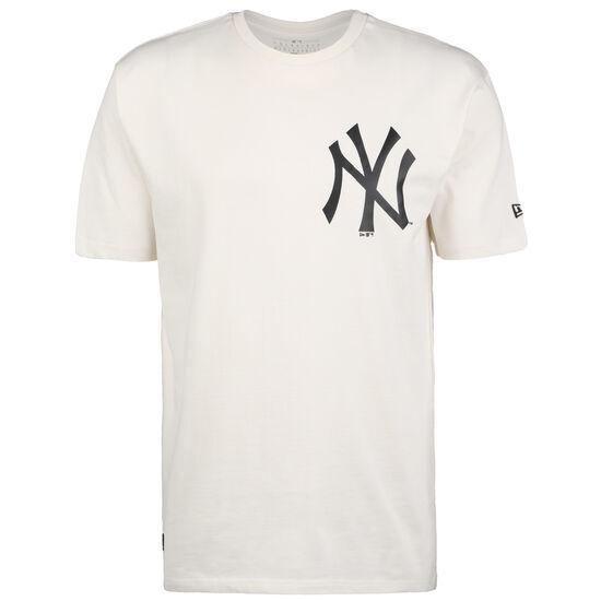 MLB New York Yankees Big Logo Oversized T-Shirt Herren, weiß / schwarz, zoom bei OUTFITTER Online