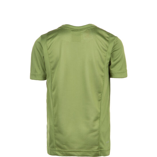 Linear T-Shirt Kinder, oliv / weiß, zoom bei OUTFITTER Online