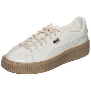 Basket Platform Patent Sneaker Damen, Weiß, zoom bei OUTFITTER Online