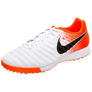 Tiempo LegendX VII Academy TF Fußballschuh Herren, weiß / orange, zoom bei OUTFITTER Online