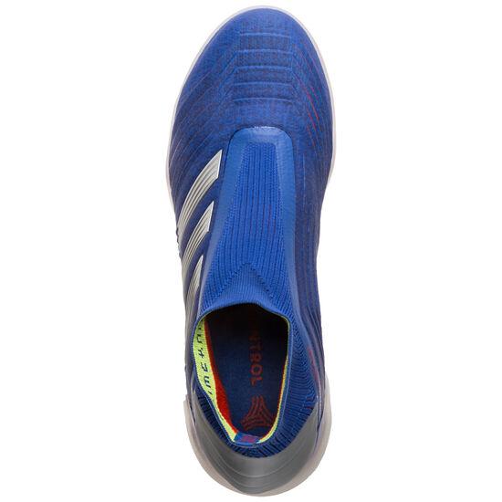 Predator 19+ TF Fußballschuh Herren, blau / silber, zoom bei OUTFITTER Online