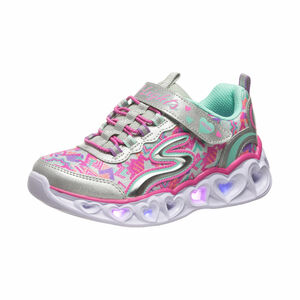 Galaxy Lights Sneaker Kinder, silber / bunt, zoom bei OUTFITTER Online