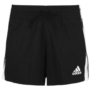 Colorblocked 3-Stripes Short Damen, schwarz, zoom bei OUTFITTER Online