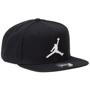 Jordan Pro Jumpman Snapback Cap, schwarz / weiß, zoom bei OUTFITTER Online