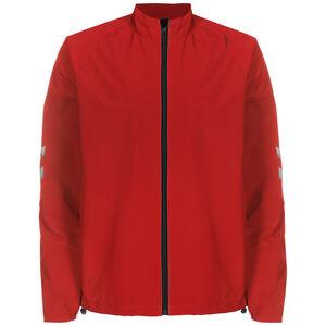 hmlLEAD Trainingsjacke Herren, rot / schwarz, zoom bei OUTFITTER Online