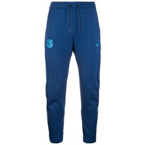 FC Barcelona Tech Fleece Trainingshose Herren, blau / hellblau, zoom bei OUTFITTER Online
