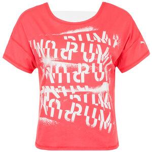 HIT Feel It Trainingsshirt Damen, pink / weiß, zoom bei OUTFITTER Online