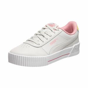 Carina L Jr Sneaker Kinder, hellgrau / pink, zoom bei OUTFITTER Online