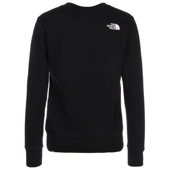 Standard Crew Sweatshirt Damen, schwarz / weiß, zoom bei OUTFITTER Online