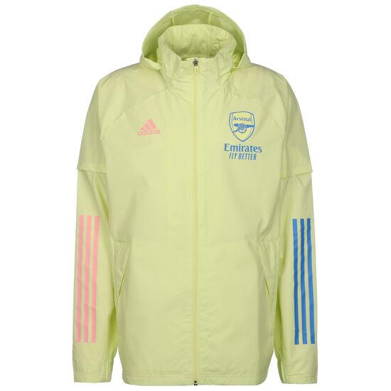 FC Arsenal All Weather Jacke Herren, gelb / blau, zoom bei OUTFITTER Online