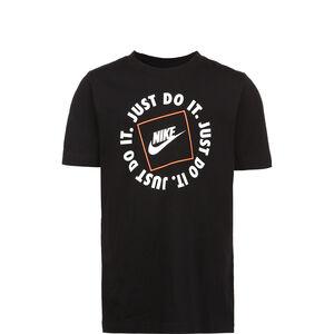 Just Do It Swoosh T-Shirt Kinder, schwarz / weiß, zoom bei OUTFITTER Online