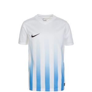 Striped Division II Fußballtrikot Kinder, Weiß, zoom bei OUTFITTER Online