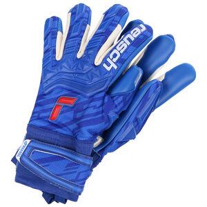 Attrakt Freegel Gold Finger Support Torwarthandschuh, blau / dunkelblau, zoom bei OUTFITTER Online