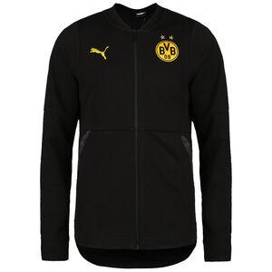 Borussia Dortmund Casuals Trainingsjacke Herren, schwarz / gelb, zoom bei OUTFITTER Online