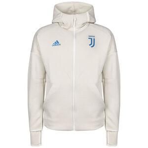Juventus Turin Z.N.E. Kapuzenjacke Herren, beige / blau, zoom bei OUTFITTER Online