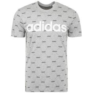 Linear Graphic T-Shirt Herren, grau / weiß, zoom bei OUTFITTER Online
