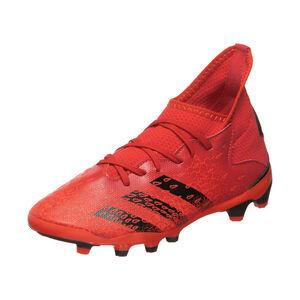 Predator Freak .3 MG Fußballschuh Kinder, rot / schwarz, zoom bei OUTFITTER Online