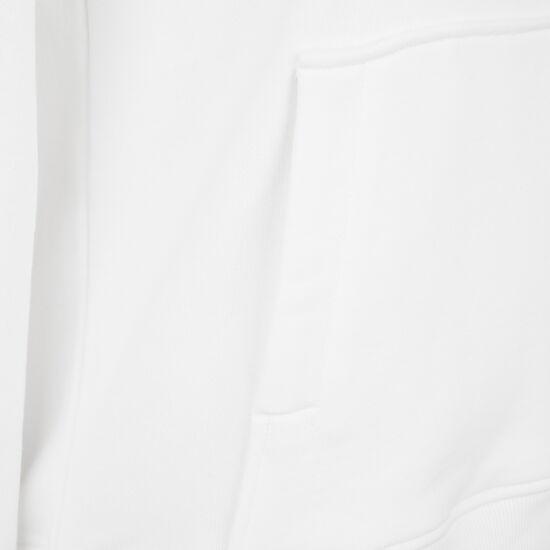 Classic Logo Kapuzenpullover Damen, weiß / schwarz, zoom bei OUTFITTER Online
