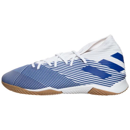 Nemeziz 19.3 Indoor Fußballschuh Herren, weiß / blau, zoom bei OUTFITTER Online