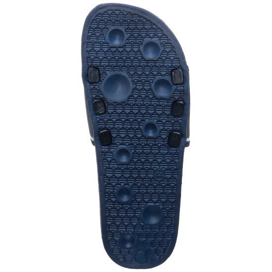 Shower Slide Badesandale Herren, dunkelblau / weiß, zoom bei OUTFITTER Online