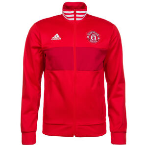 Manchester United 3S Track Jacke Herren, Rot, zoom bei OUTFITTER Online