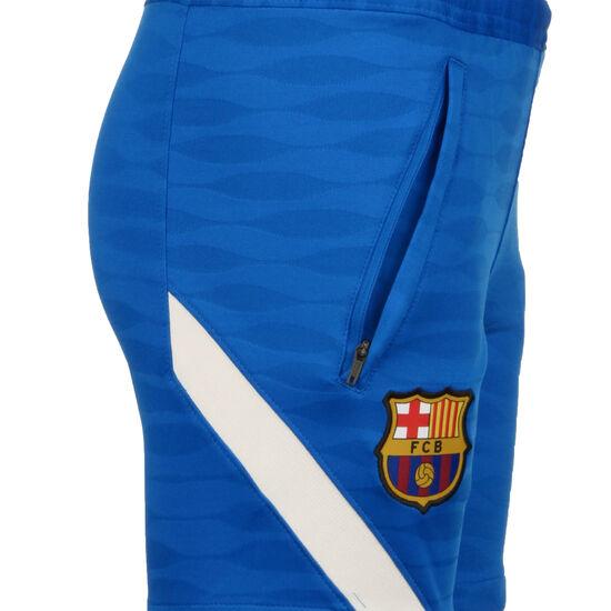 FC Barcelona Strike Trainingsshorts Kinder, blau / weiß, zoom bei OUTFITTER Online