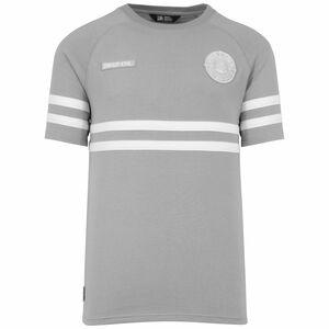 DMWU T-Shirt Herren, grau / weiß, zoom bei OUTFITTER Online