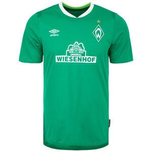 SV Werder Bremen Trikot Home 2019/2020 Herren, grün / weiß, zoom bei OUTFITTER Online