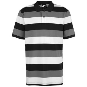 Matchup Stripe Poloshirt Herren, schwarz / weiß, zoom bei OUTFITTER Online