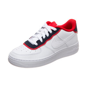 Air Force 1 LV8 Style Sneaker Kinder, weiß / rot, zoom bei OUTFITTER Online