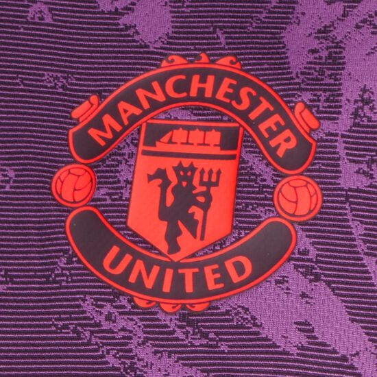 Manchester United Trainingsshirt Herren, lila / gelb, zoom bei OUTFITTER Online