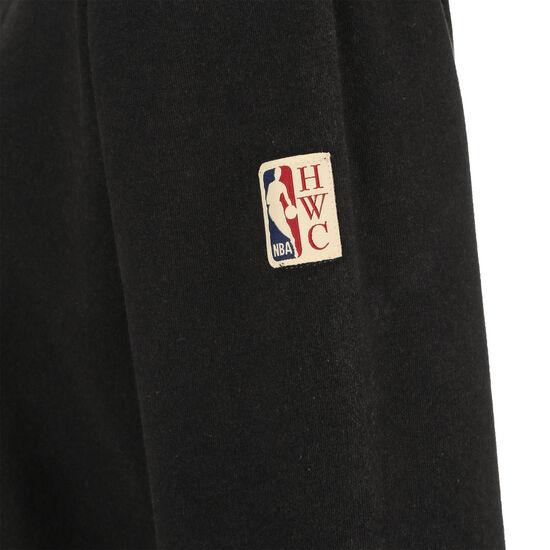 NBA Philadelphia 76ers Worn Logo Kapuzenpullover Herren, schwarz, zoom bei OUTFITTER Online
