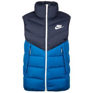 Sportswear Windrunner Daunenweste Herren, blau / weiß, zoom bei OUTFITTER Online