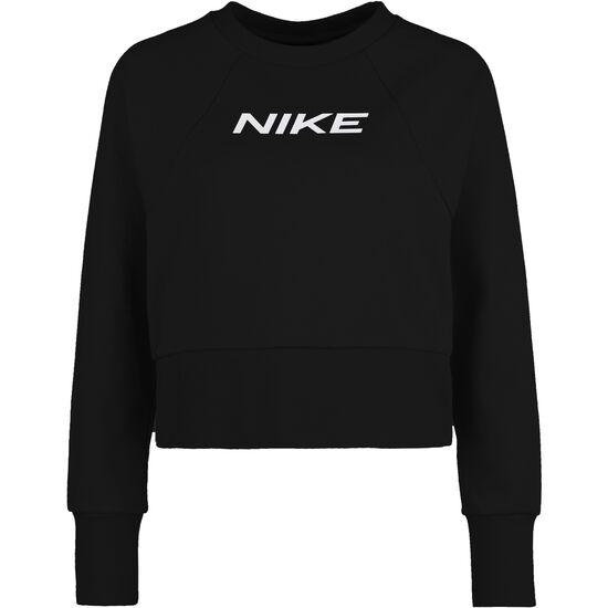 Dry Get Fit Trainingssweat Damen, schwarz / weiß, zoom bei OUTFITTER Online