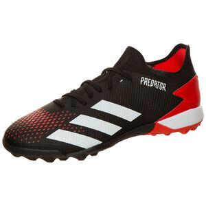 Predator 20.3 TF Fußballschuh Herren, schwarz / rot, zoom bei OUTFITTER Online